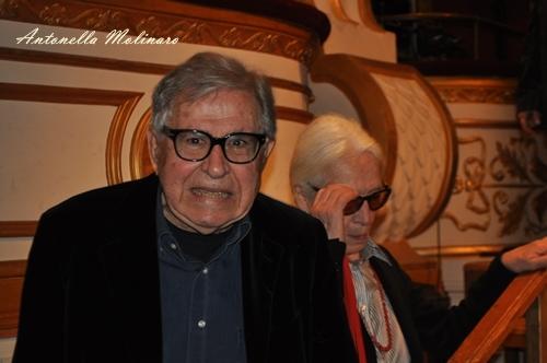 Il regista Paolo Taviani e la moglie costumista Lina Nerli Taviani
