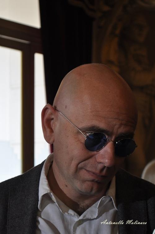 L'attore Rolando Ravello