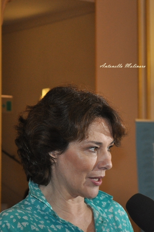 L'attrice Valeria Cavalli