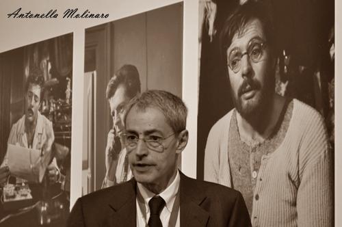 Il regista David Grieco