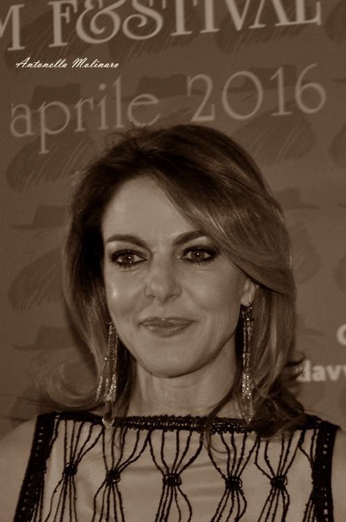 L'attrice Claudia Gerini
