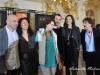 Gli attori Rolando Ravello, Antonella Attili, Valeria Cavalli, Andrea Occhipinti, Francesca D'Aloja, Massimo Wertmuller