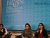 In un posto bellissimo: l'attore Alessio Boni, l'attrice Isabella Ragonese e la regista Giorgia Cecere