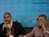 Il traduttore: il regista Massimo Natale e l'attrice Eva Grimaldi