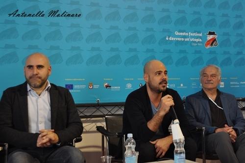 Francesco Ghiaccio, Marco D'Amore e Giorgio Colangeli