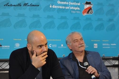 Marco D'Amore e Giorgio Colangeli