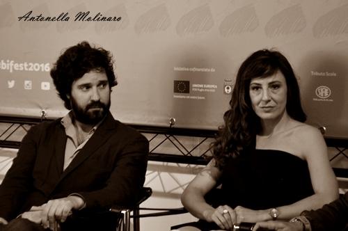 Carlo Lavagna e Valentina Carnelutti