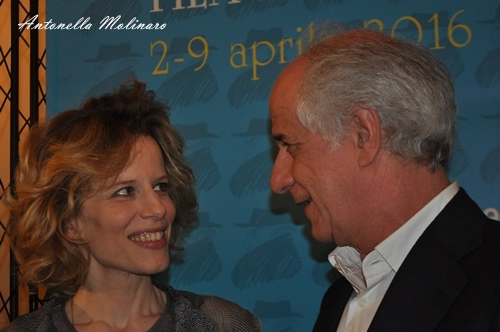 Sonia Bergamasco e Toni Servillo