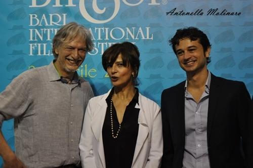 Gigio Alberti, Laura Morante e Dil Gabriele Dell'Aiera