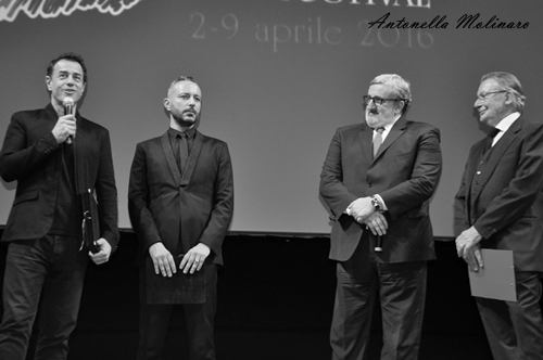 Matteo Garrone e Massimo Cantini Parrini