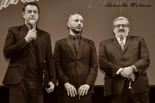 Matteo Garrone, Massimo Cantini Parrini e Michele Emiliano