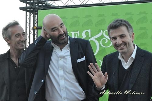 Fabrizio Testini, Nicola Guaglianone e Valentino Picone