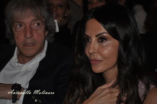 L'attrice Sabrina Ferilli con il regista Carlo Vanzina