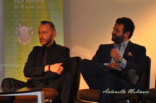 Indivisibili: Il costumista Massimo Cantini Parrini ed il regista Edoardo De Angelis
