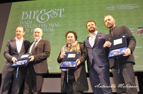 Enzo Avitabile, Edoardo De Angelis e Massimo Cantini Parrini