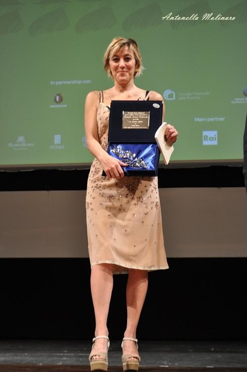 L'attrice Valeria Bruni Tedeschi premiata al BIF&ST 2017