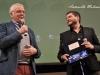 Il regista Claudio Giovannesi premiato al BIF&ST dal critico Claudio Masenza