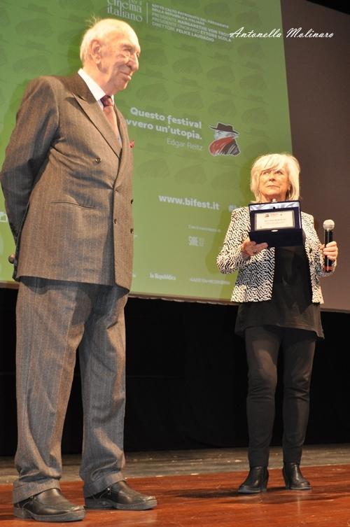Giuliano Montaldo premiato al BIF&ST 2017
