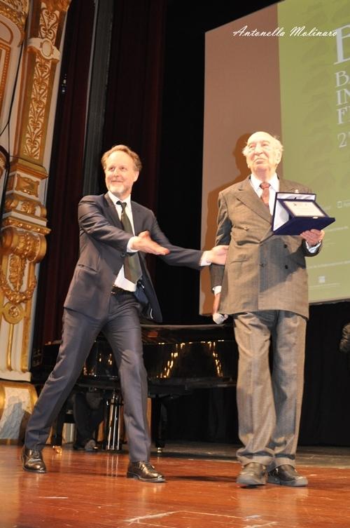 Giuliano Montaldo e Francesco Bruni