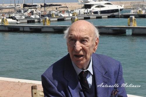L'attore Giuliano Montaldo