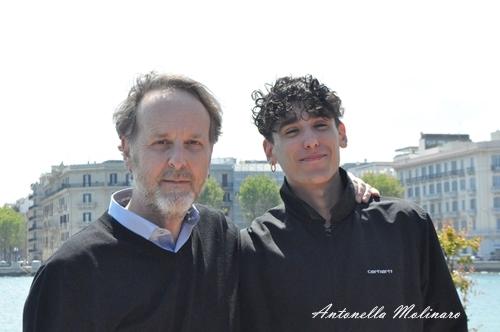 Francesco Bruni e Andrea Carpenzano