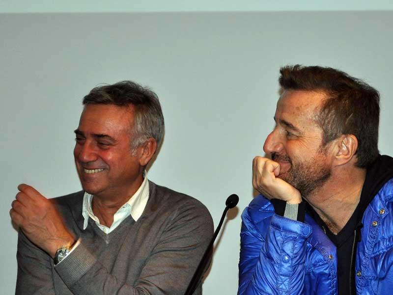 Massimo Ghini e Christian De Sica