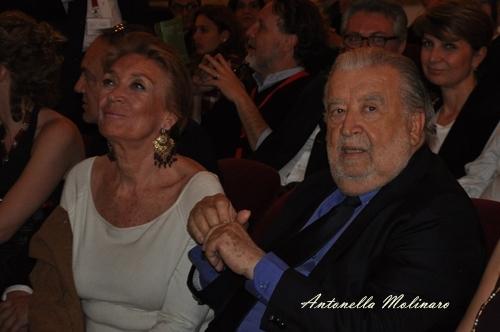 Pupi Avati e la moglie Nicola