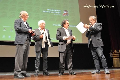 Dario Argento, Luciano Tovoli, Enrico Magrelli e Felice Laudadio