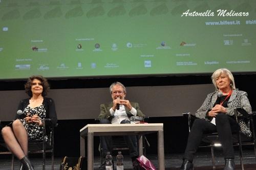 Fanny Ardant, Felice Laudadio e Margarethe Von Trotta