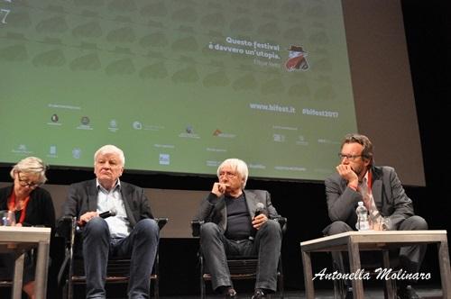 Jacques Perrin e Luciano Tovoli
