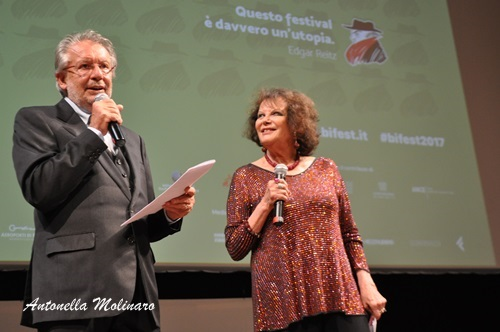 Felice Laudadio e Claudia Cardinale