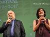 Il regista Pupi Avati con l'attrice e regista Chiara Caselli