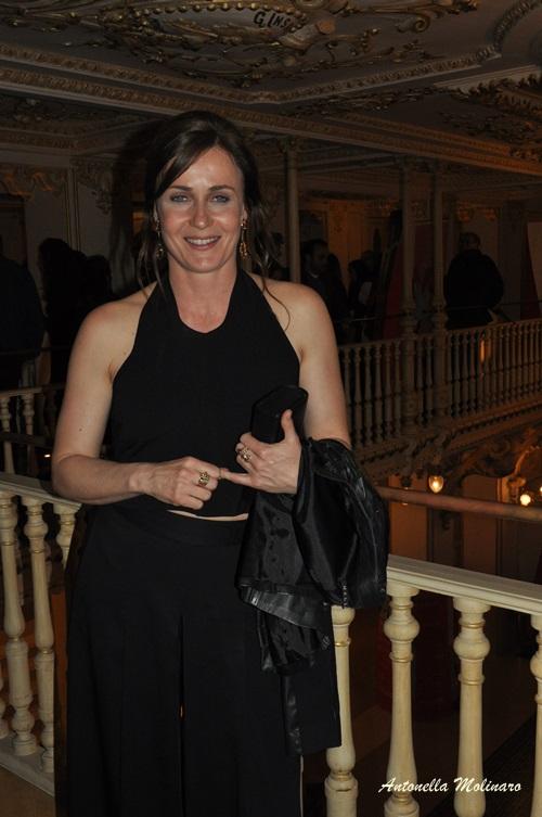 L'attrice Lucia Mascino