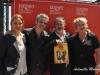 L'attore e regista Paolo Sassanelli tra gli attori Marit Nissen, Francesco Colella e Rian Gerritsen