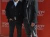 L'attore e regista Paolo Sassanelli con l'attore Francesco Colella