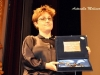 Laura Bispuri ritira il premio Premio Mariangela Melato per la migliore attrice protagonista