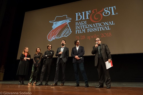 Dario Aita, Fabrizio Gifuni e Daniele Vicari
