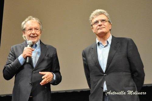Il regista Mario Martone con Felice Laudadio