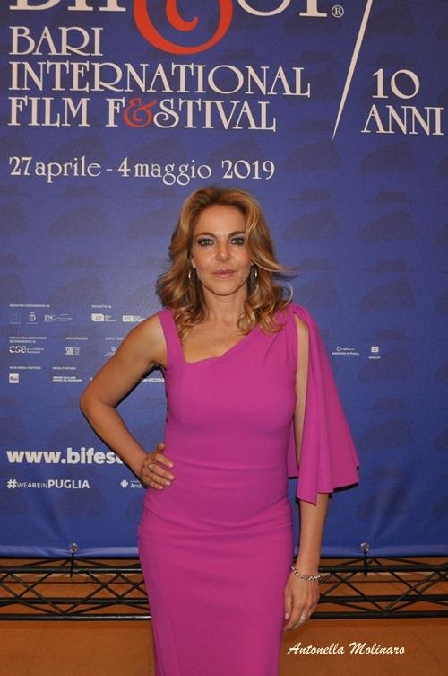 Non sono un assassino: L'attrice Claudia Gerini