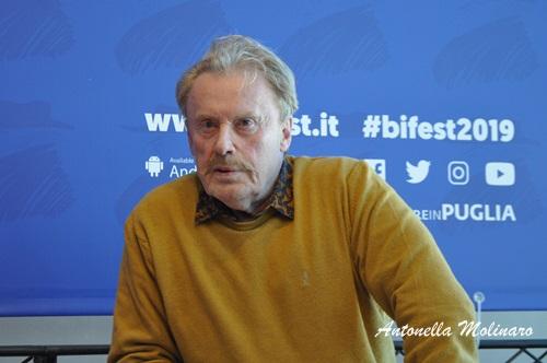 L'attore polacco di Van Goghs Daniel Olbrychski