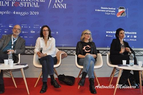 Katja Colja, Lunetta Savino e  Simonetta Solder