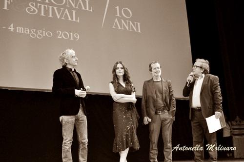 Sergio Rubini, Ivana Lotito e Rocco Papaleo,