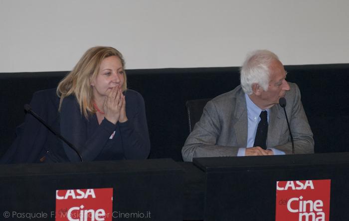 Iaia Forte ed Enrico Greco