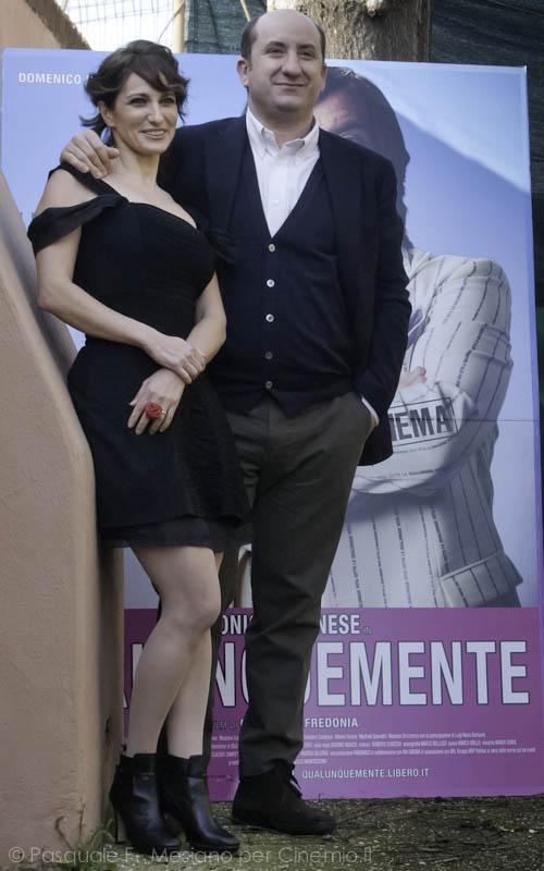 Antonio Albanese e Lorenza Indovina