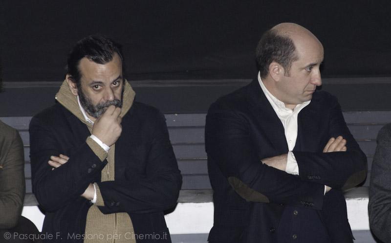 Nicola Rignanese e Antonio Albanese