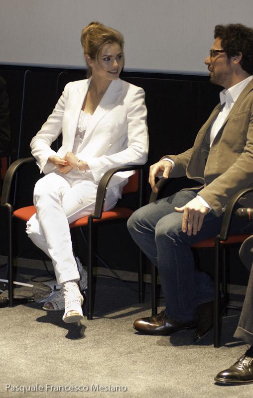 Vanessa Hessler e Francesco Montanari