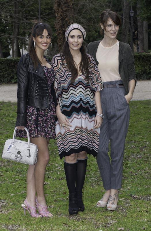 Serena Bonanno, Pasqualina Sanna, Jane Alexander