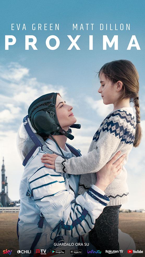 il poster di Proxima film con Eva Green