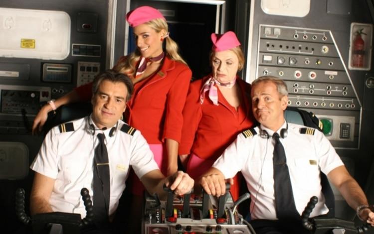Il cast di Piloti al completo