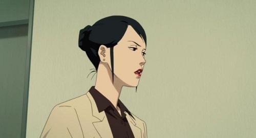 La dottoressa Chiba in una scena del film